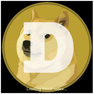 Dogecoin splash